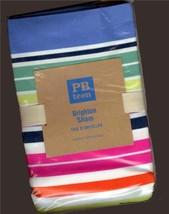 Pottery Barn Teen Stripe Pillow Shams Brighton ... - $32.66