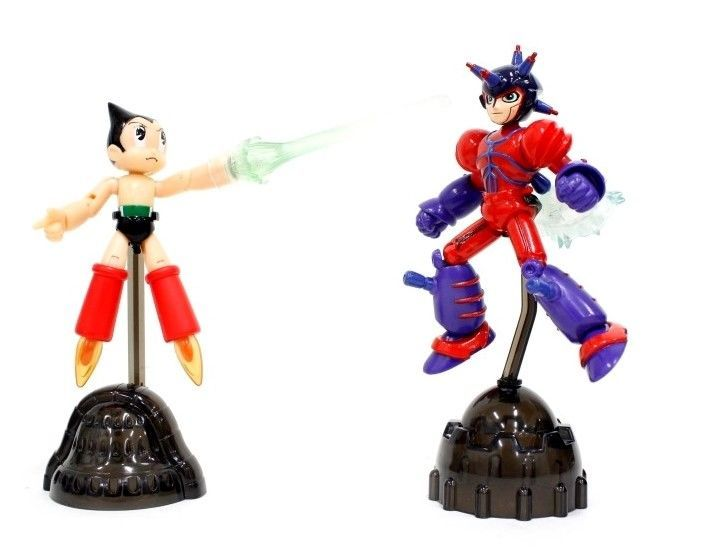 TAKARA TOMY 2003 Mighty ATOM ASTRO BOY vs ATLAS Action figures Official