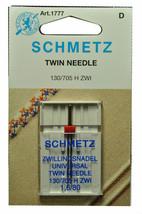 Schmetz Sewing Machine Twin Needle 1777 - $4.04