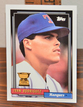 New Mint Topps trading card Baseball card 1992 Ivan Rodriguez 78 Rangers - $1.48