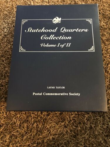 Primary image for Statehood Quarters Collection Postal Commemorative Society Volume 1 Complete