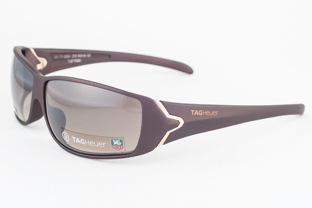 Primary image for Tag Heuer Racer 9204 Brown Gold / Brown Gradient Sunglasses TH9204 212