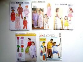 5 Kids Patterns McCalls# M4364,Butterwick B4967,B5586, 36617 & Simpilici... - $9.89