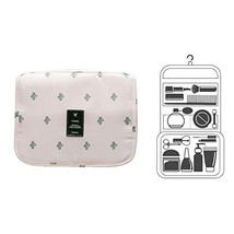 Hanging Toiletry Bag, Cosmetic Makeup Travel Organizer for Men & Women with Stur