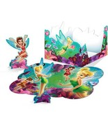 Disney Party Celebration Birthday Fairies Punch Out Table Decoration Gue... - $12.82