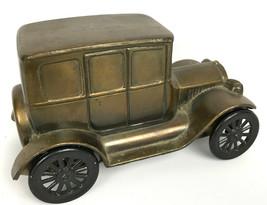 Vintage Advertisement Metal Bank Banthrico Natick Savings MA 1926 Ford  - $16.78