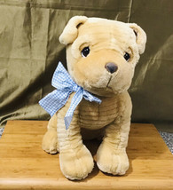 "Precious Moments Enesco 14"" Shar Pei Stuffed Plush Tan Puppy Dog HTF - $39.60"