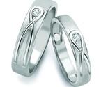 Rings infinity knot solitaire platinum love bands sj pto 115 1 grande thumb155 crop