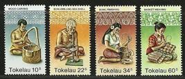 TOKELAU  1982 Very Fine Mint Hinged Stamps Scott#  81-84 - $3.00