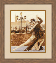 Counted Cross Stitch Embroidery Kit Venetian Tango - $35.69