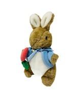 Eden Peter Rabbit Bunny Plush Beatrix Potter Soft Stuffed Animal W Carro... - $15.50