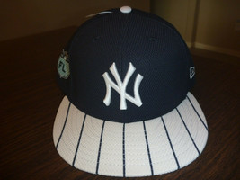 NEW YORK YANKEES NEW ERA 59FIFTY 2017 FLORIDA LEAGUE NAVY FITTED HAT SIZ... - $23.99