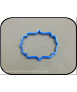 "4"" Plaque 3D Printed Cookie Cutter #P8017 - $3.00"