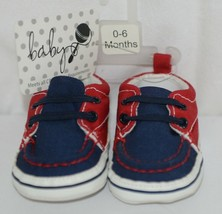 Baby Brand Red White Blue 309067 Pre Walker Infant Shoes 0 to 6 Months image 1