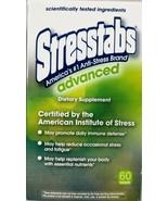 Stresstabs Advanced Dietary Supplement 60 Tablets Anti Stress Tabs Exp 9... - $69.29