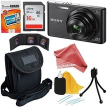 Sony Cyber-shot DSC-W830 20.1 MP Digital Camera with 8x Optical Zoom and... - $167.31