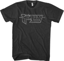 Thin Lizzy-Classic Logo- XL Black T-shirt - $19.34