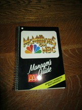 1990 McDonald's McMillions On NBC Manager's Guide-30 Pages - $8.95