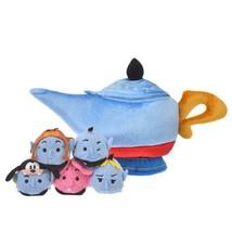 Disney Store Japan TSUM TSUM stuffed toy Genie Magical lamp house set Al... - $92.07