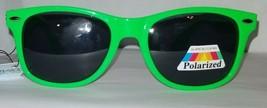 Way Cool Neon Green Premium Glare Blocking Polarized Sunglasses UV400 - $9.30