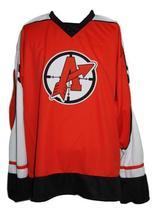 Custom Name # Orangetown Assassins Hockey Jersey Orange Glatt #69 Any Size image 4