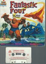 Fantastic Four Big Looker Storybook The Island of Danger Marvel Books 19... - $14.99