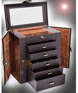 HAUNTED LARGE CABINET SUMMON BIND & TRANSFER ALIGN EXTREME MAGICK 7 SCHO... - $397.77