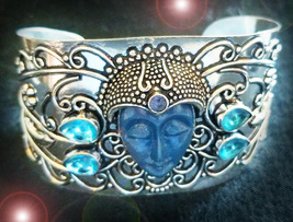 HAUNTED BRACELET ALIGN WITH ALL THE GODDESSES EXTREME MAGICK MYSTICAL TR... - $337.77