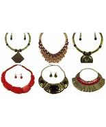 Indian Fashion Women Jewelry Pendant Choker Chunky Statement Chain Bib N... - $14.84+