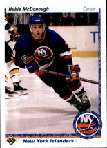 Hubie McDonough 1990-91 Upper Deck Rookie Card #226 - $0.99