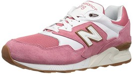 Balance Men's 878 90S Running Sneaker-RESTOMOD Fashion, Red/White, 8 D US - $83.03