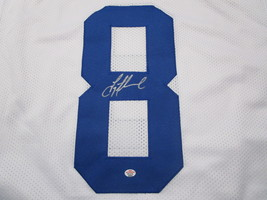 TROY AIKMAN / NFL HALL OF FAME / AUTOGRAPHED DALLAS COWBOYS CUSTOM JERSEY / COA image 3
