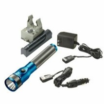 Stinger Led Rechargeable Flashlight With Ac/Dc And Piggyback Blue Stl75613 - $162.52