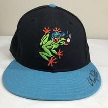 VTG Everett Aqua Sox Hat New Era Fitted Cap Minor League Baseball 90s Sz... - ₹2,094.80 INR
