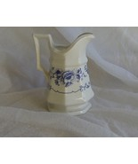 Iroquois Clinton Inn Creamer Blue and White Flo... - $19.99