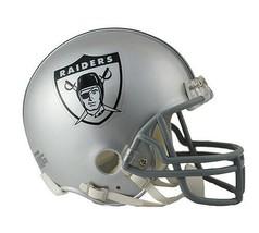 NFL Oakland Raiders 1963 Throwback Riddell Mini Football Helmet Replica Retro - $29.65