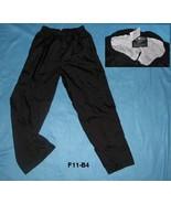 Charles River Apparel Black Sz L (14-16) Wind Sports Pants - $10.99