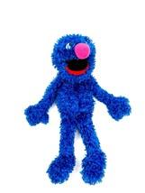 Fisher Price Sesame Street Grover Hand Puppet Plush Blue Monster 2008 - $30.64