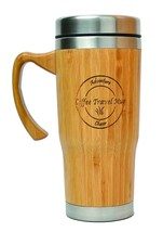 AdventureChaser Bamboo Travel Mug for Coffee and Tea | Premium Insulated... - €20,48 EUR