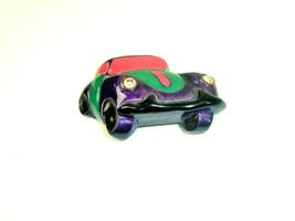 Car Brooch Pin 3D plastic Marked DL made in USA vintage - $12.86