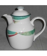Noritake Stoneware NEW WEST PATTERN 6 Cup Coffee Pot MADE IN JAPAN - $39.59