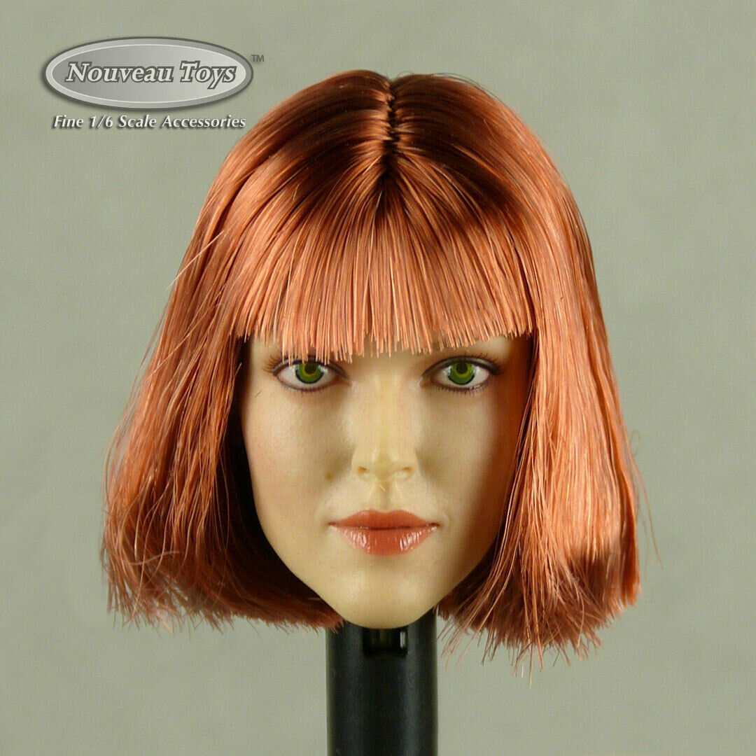 Primary image for 1/6 Phicen, TBLeague, Hot Toys, GAC Female Caucasian Short Red Hair Head Sculpt