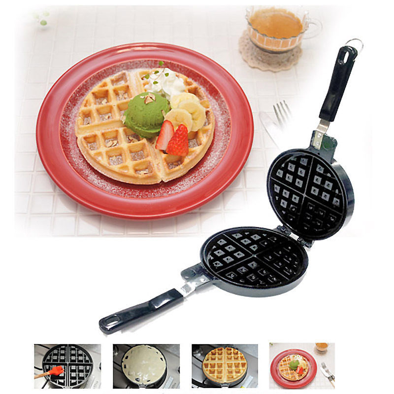 Belgium Waffle Iron frying pan Round frying pan