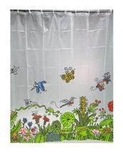 PANDA SUPERSTORE Waterproof Springtime Bathroom Shower Curtain (180180cm)