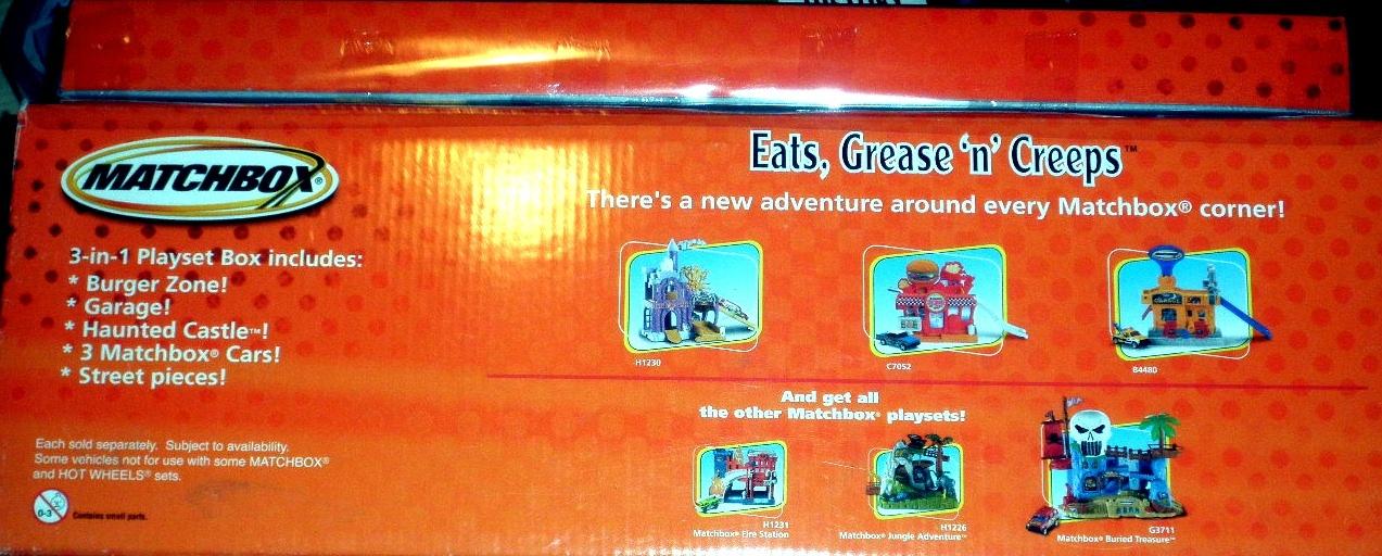Matchbox -Eats, Grease 'n' Creeps Playset image 2