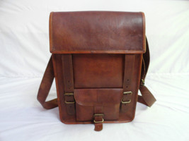 "Vintage Leather 13"" Macbook Messenger Bag Handmade Satchel Laptop Cross ... - $62.37"