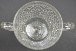 Vintage Westmoreland Glass English Hobnail Pattern Footed Open Sugar 4.2... - $12.99