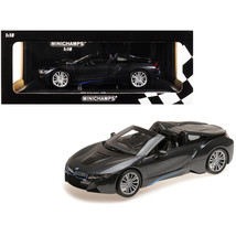 2018 BMW i8 Roadster Dark Gray Metallic Limited Edition to 504 pieces Wo... - $136.41