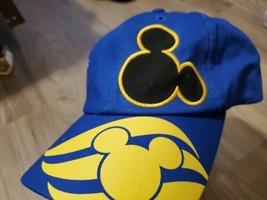 Disney Cruise Lines Oceaneer Club/Lab Blue Adjustable Strap Hat Youth - $24.75