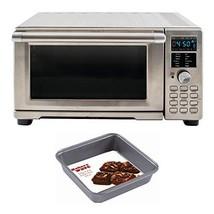 NuWave 20801 Bravo XL Air Fryer/Toaster Oven w/digital temperature probe + Squar